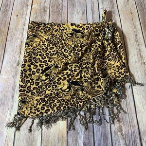 🎉SALE!!! Swimsuit wrap cover-up leopard/ cheetah